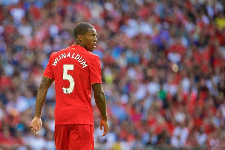 georginio wijnaldum of Liverpool