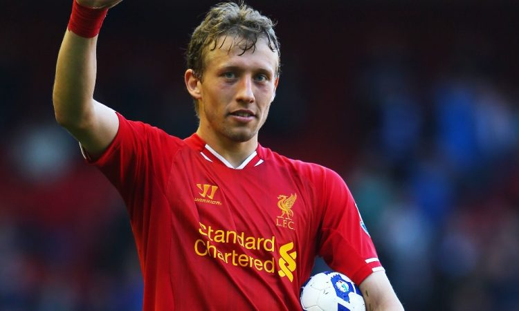 Lucas Leiva of Liverpool