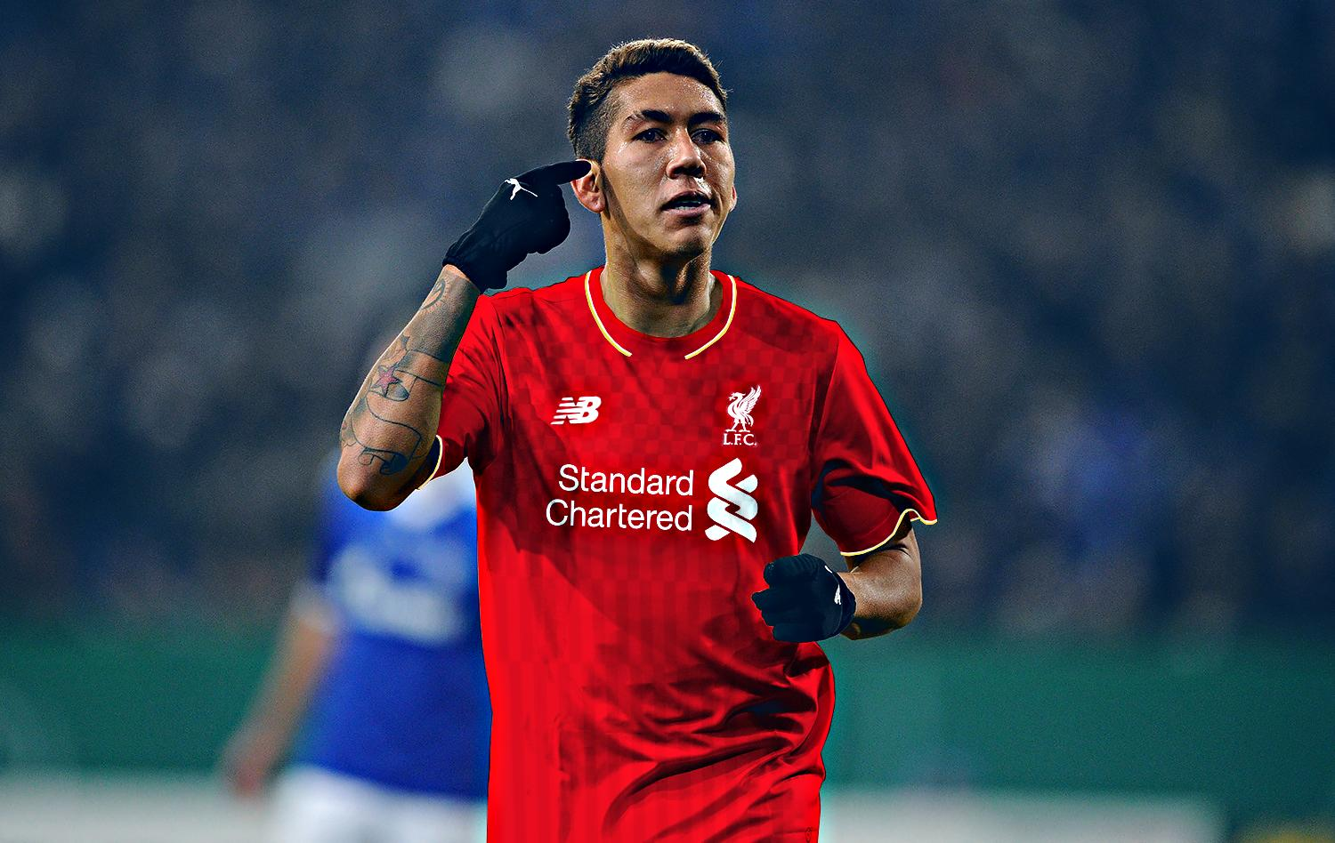 Firmino of Liverpool