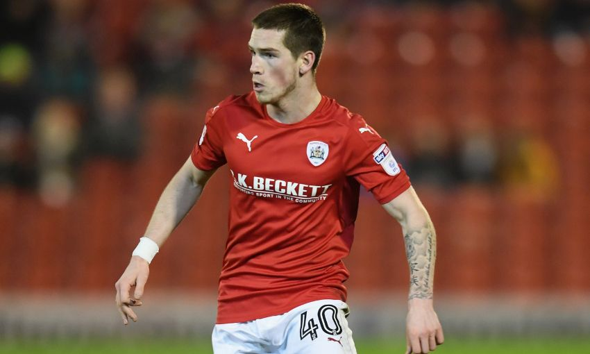 Liverpool's Ryan Kent is currently on loan at Barnsley.