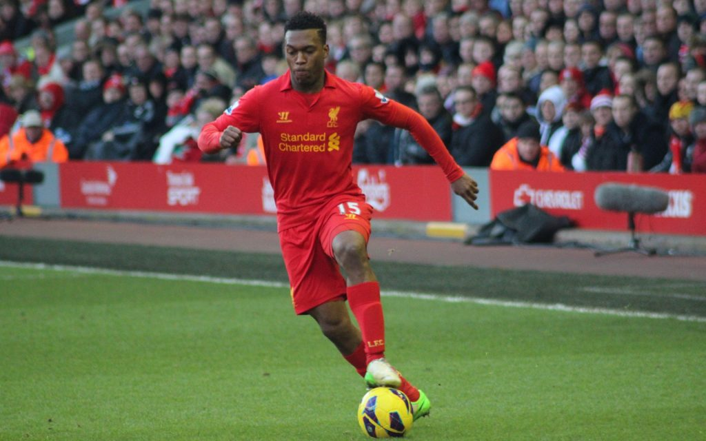 Daniel Sturridge of Liverpool.