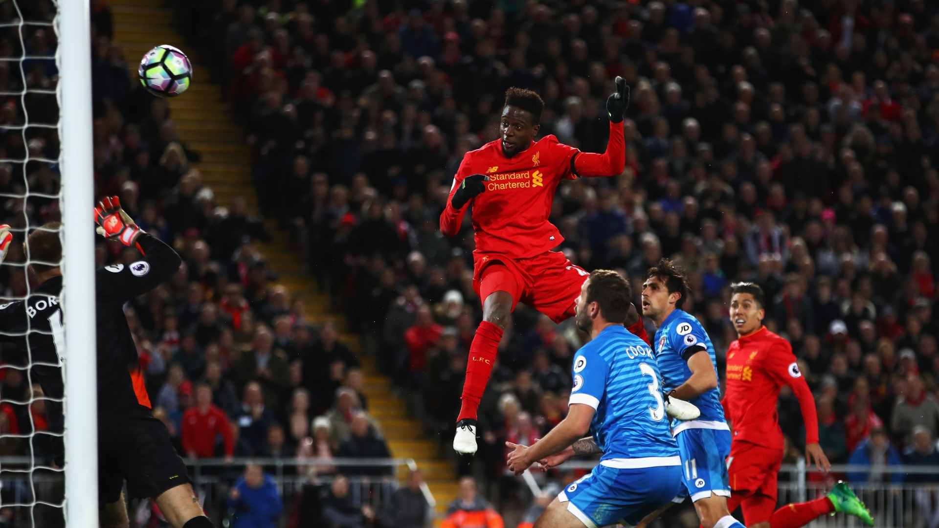 Divock Origi gave Liverpool the lead