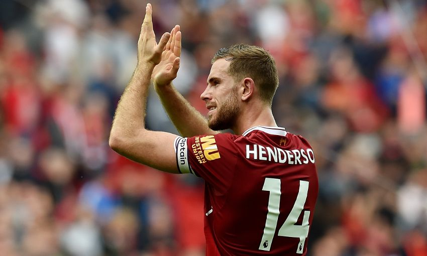 Jordan Henderson of Liverpool