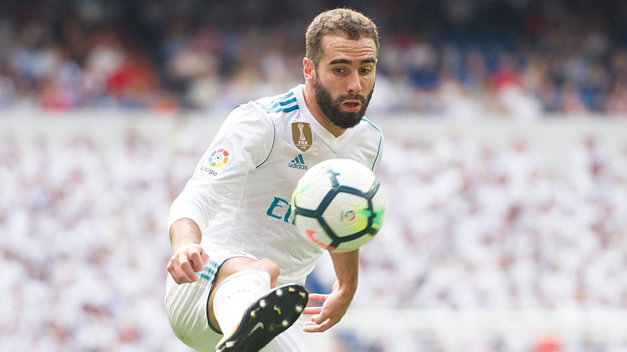 Dani Carvajal is an injury doubt for Real Madrid ahead of Liverpool clash in the UEFA Champions League.