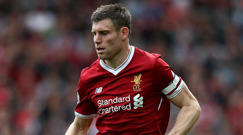 James Milner of Liverpool