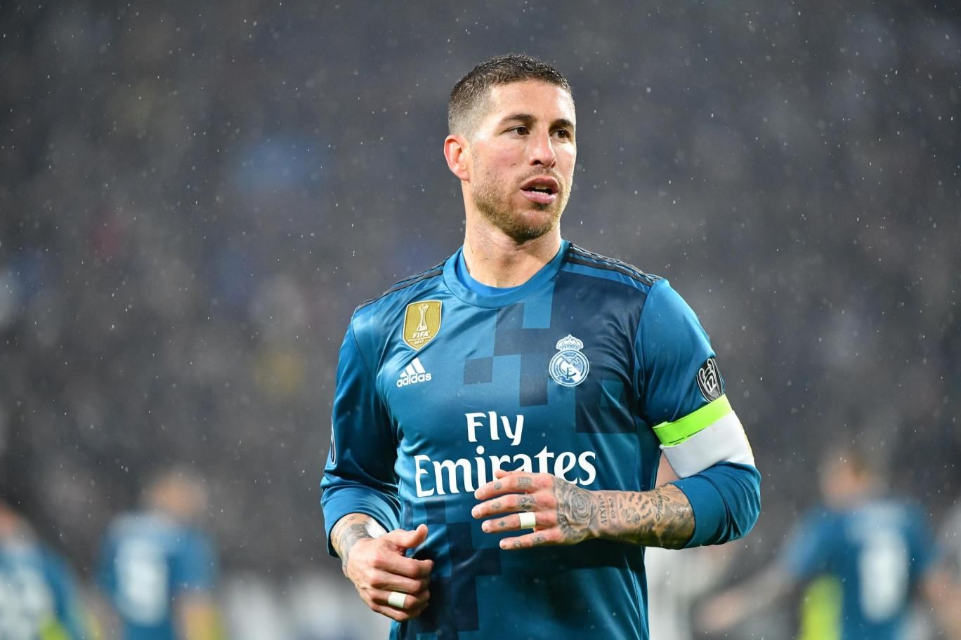 Image result for Sergio Ramos Champions League 2018 tackles