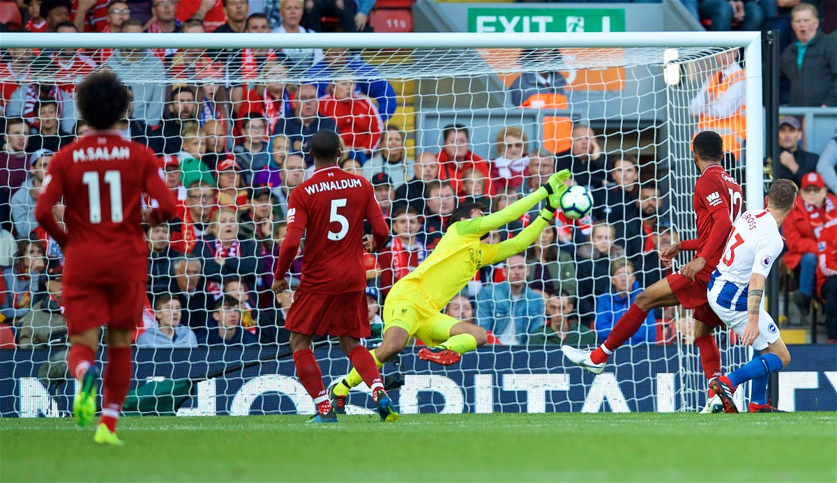 Alisson of Liverpool