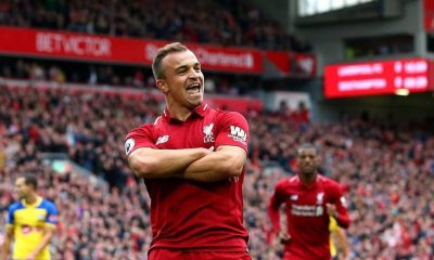 Xherdan Shaqiri of Liverpool