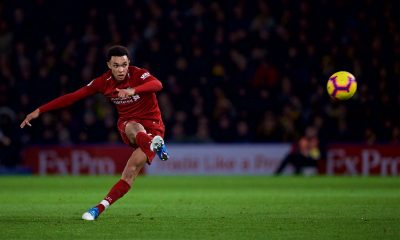 Trent Alexander-Arnold scores for Liverpool
