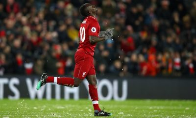Sadio Mane of Liverpool