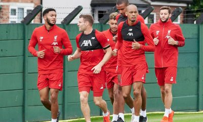 Liverpool players return