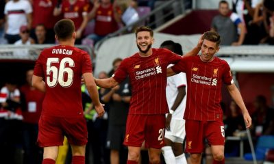 Harry Wilson, Bobby Duncan and Adam Lallana
