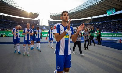 Marko Grujic has spent the last two seasons on loan at Hertha Berlin
