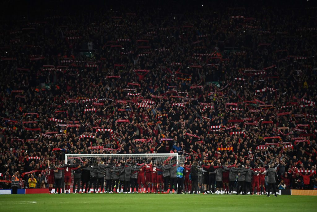 Liverpool turned Anfield into a fortress