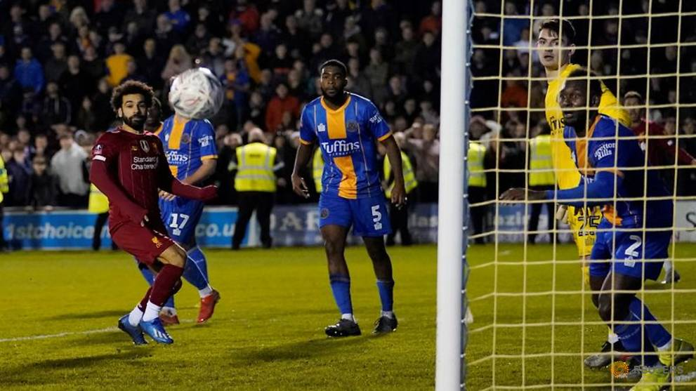 Mohamed Salah vs Shrewsbury Town