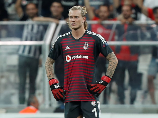 Liverpool Loris Karius is on loan at Besiktas