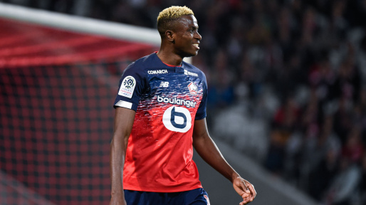 Osimhen Explains Choice Of Number 7 Jersey At Lille; Reveals Love For Amuneke