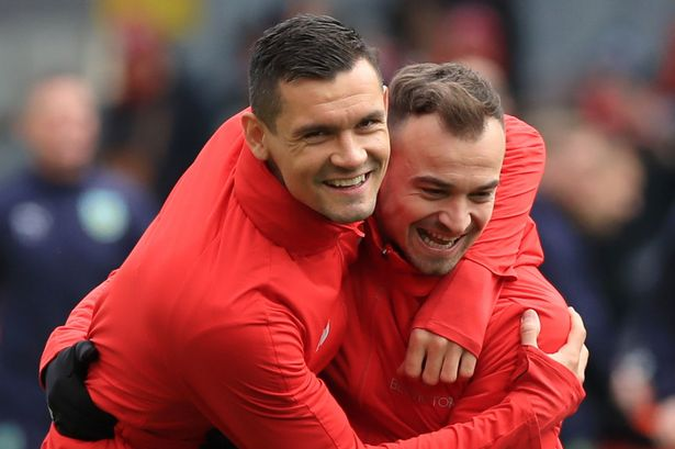 Xherdan Shaqiri and Dejan Lovren have been on the fringes this season