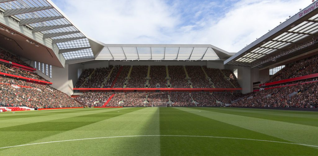 Anfield Road redevelopment