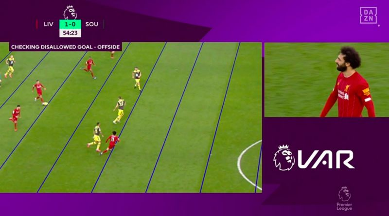 Liverpool goal ruled out for offside