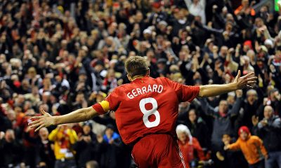 Steven Gerrard Liverpool Hall of Fame