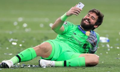 Alisson Becker is the undisputed number one
