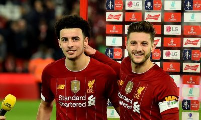 Adam Lallana Curtis Jones