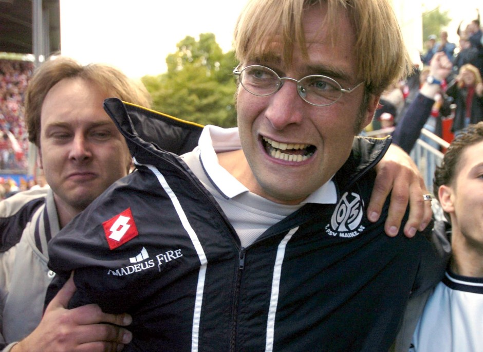 Jurgen Klopp started his managerial journey at Mainz