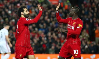 Sadio Mane and Mohamed Salah both made the cut