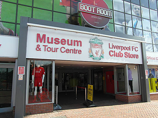 Liverpool museum and club stores will be closed until April 4th