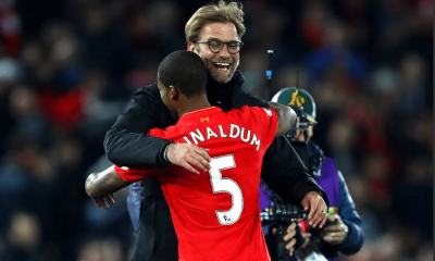 Georginio Wijnaldum shares a close bond with Klopp