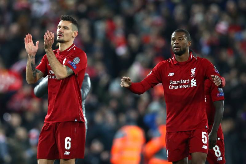Wijnaldum and Lovren will enterthe final years of their contract