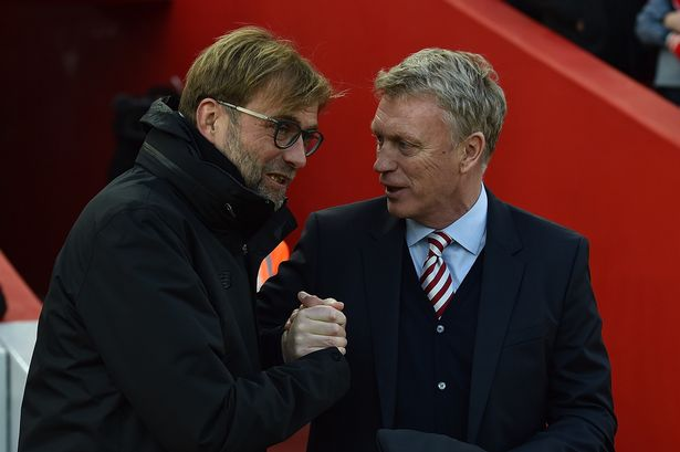 Jurgen Klopp and David Moyes could be next to take a paycut