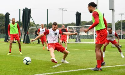 Virgil van Dijk opened up on training from home