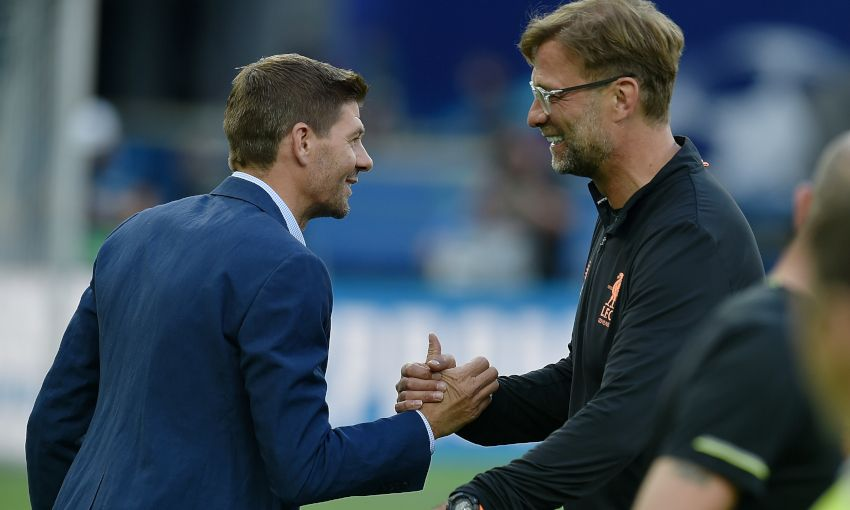 Jamie Carragher backs Steven Gerrard to succeed Jurgen Klopp