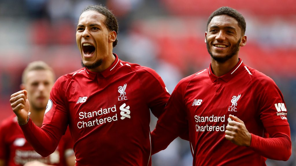Joe Gomez and Virgil van Dijk are a formidable duo