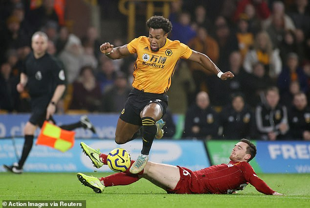 Andy Robertson found Traore difficult to handle