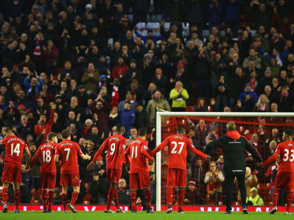 Liverpool face West Brom on Boxing Day