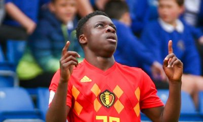 Doku scored against Iceland on his first start for Belgium