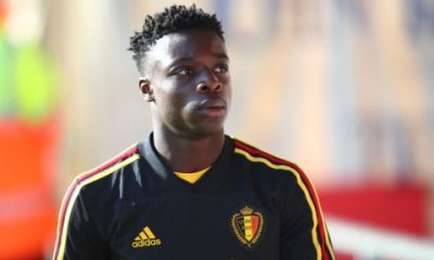 Jeremy Doku made his international debut for Belgium last weekend (Getty Images)