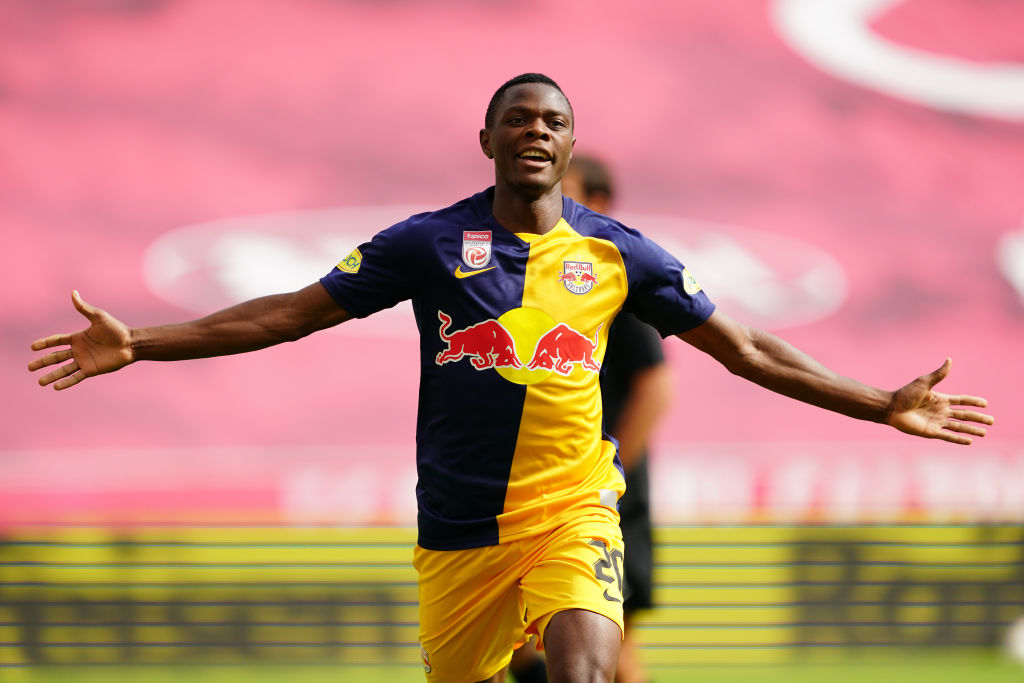 Patson Daka is a transfer target for Liverpool, Manchester United, and Everton.