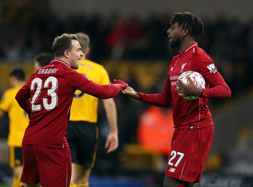 Liverpool winger Xherdan Shaqiri has revealed his desire to help the team get through what has been a challenging season so far.