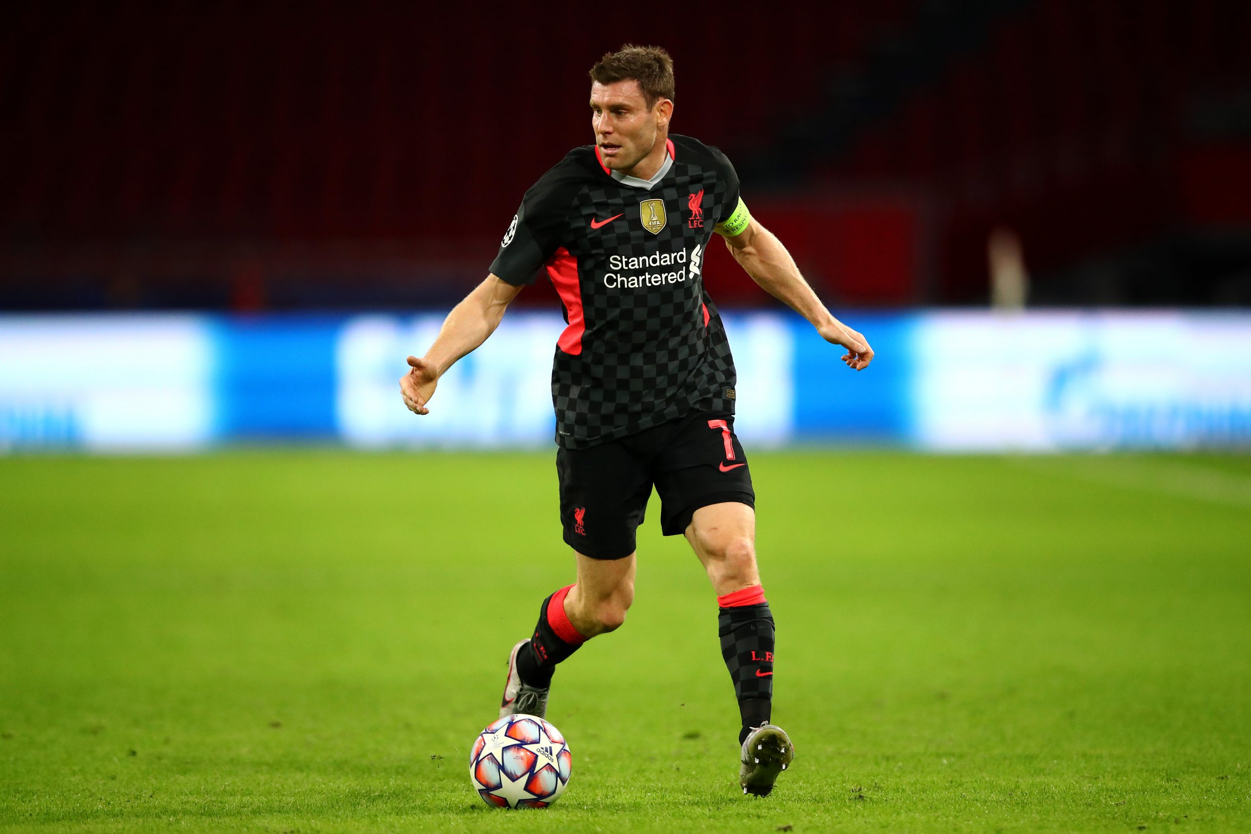 James Milner is against the idea of a European Super League. (GETTY Images)