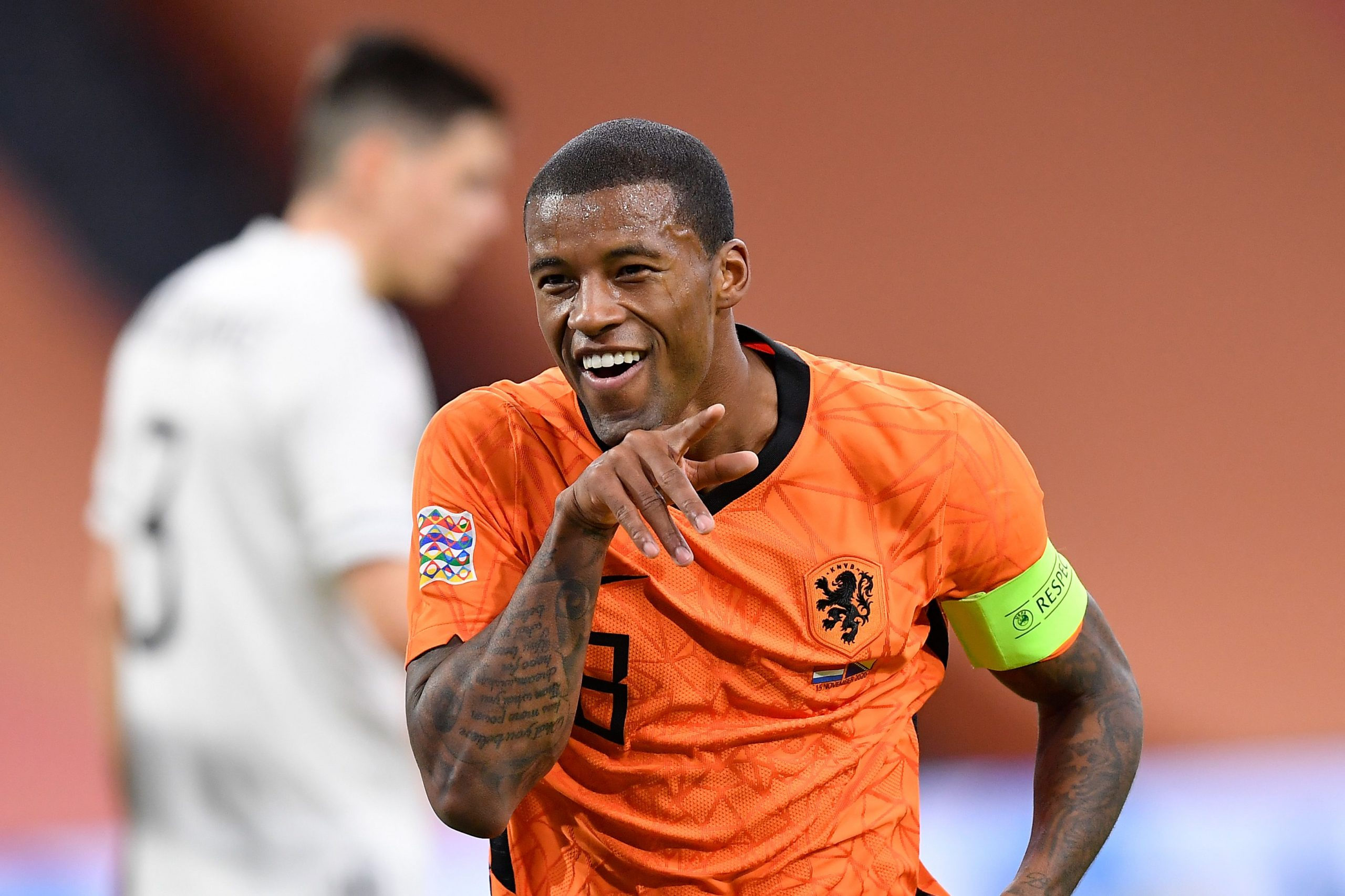 Georginio Wijnaldum is out of contract in the summer. (GETTY Images)