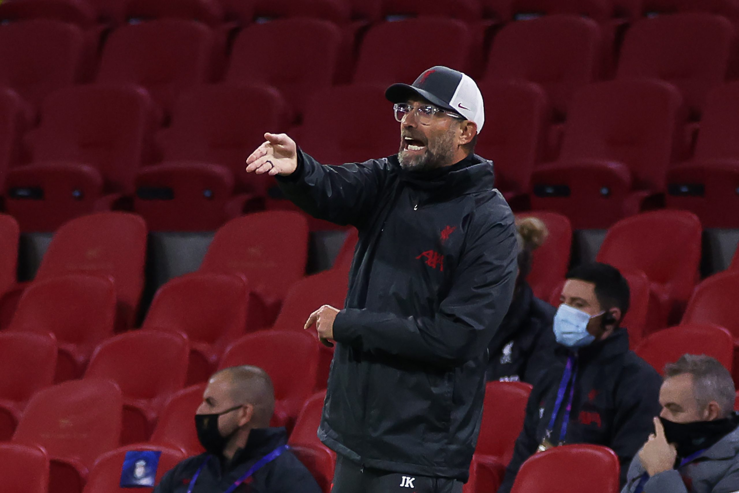 Jurgen Klopp is unhappy with the afternoon kick-off against Brighton just a few days after Liverpool playing Atalanta on Wednesday. (GETTY Images)