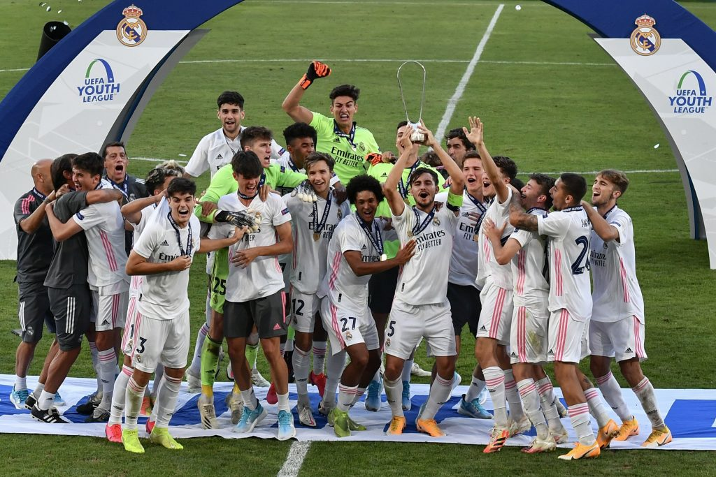 Marvin Park won the UEFA Youth League with Real Madrid in August 2020. (GETTY Images)