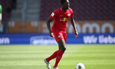 Liverpool are interested in signing Ibrahima Konate from RB Leipzig. (GETTY Images)