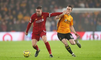 Jordan Henderson helped Diogo Jota settle down at Liverpool after the Portuguese's move from Wolverhampton Wanderers in the summer. (GETTY Images)