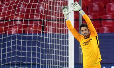 Sevilla goalkeeper Alfonso Pastor has been linked with a transfer move to Liverpool, Atletico, Real Madrid, and Barcelona.