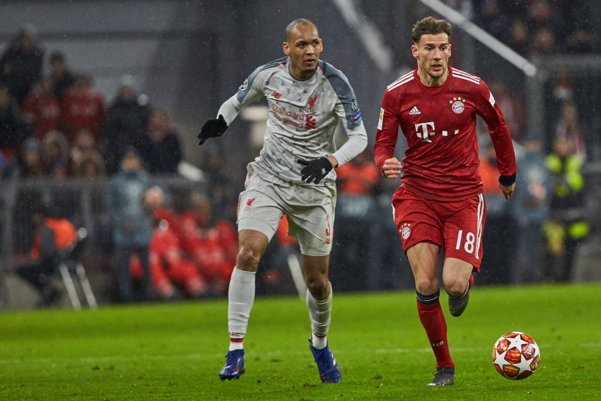 Leon Goretzka was present in the Bayern Munich team that lost 2-1 to Liverpool at the Allianz Arena in the 2018/19 UEFA Champions League season. (imago Images)